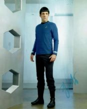 Zachary Quinto Autograph Signed Photo - Star Trek
